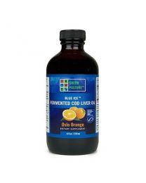 Green Pasture - BLUE ICE™ Fermented Cod Liver Oil - Oslo Orange 237ml