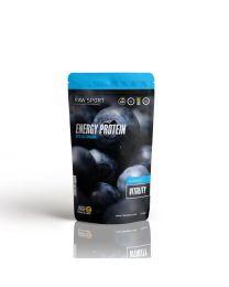 Raw Sport Energy Protein Vitality Blueberry 500g