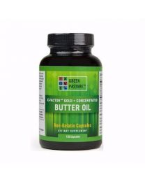 X-FACTOR™ Gold High Vitamin Butter Oil- Non-Gelatin 120 CAPSULES