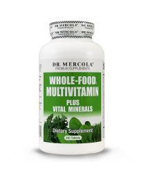 Dr Mercola Whole Foods MultiVitamin Plus 240 Tablets