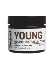 Sunfood - Young, Superfood Skin Care Facial Cream, 2oz