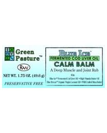 Green Pasture - BLUE ICE™ FCLO - Calm Balm 1.75oz