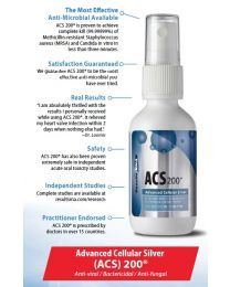 Results RNA - Advanced Cellular Silver (ACS) 200® 2fl oz (60ml)