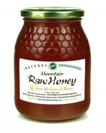 Raw Mountain Honey - 1kg (Raw, Organic) From The Hives of Julio
