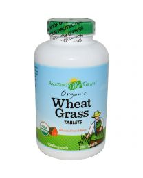 Amazing Grass, Organic Wheatgrass Tablets, 1000 mg, 200 Tablets