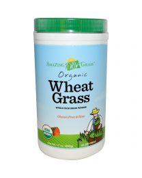 Amazing Grass, Organic, Wheatgrass, Whole Food Drink Powder, 17 oz (480 g)