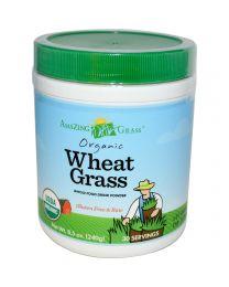 Amazing Grass, Organic Wheatgrass, Whole Food Drink Powder, 8.5 oz (240 g)