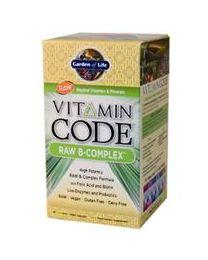 B-Complex, Raw, 120 Veggie Caps (Garden of Life)