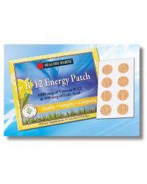 VITAMIN B12 ENERGY PATCH 1000mcg (With 400mcg of Folic Acid) 8 Patches