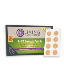 Living Nutritionals Vitamin B12 Patches (48 patches - 100% Vegan Methylcobalamin)