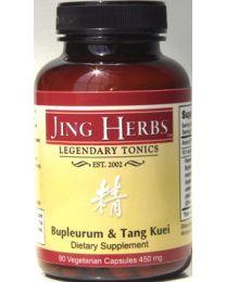Jing Herbs Bupleurum & Tang Kuei 90caps 450mg