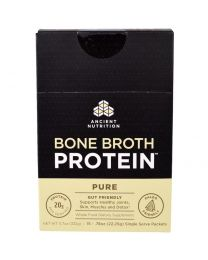 Bone Broth Protein, Pure, 15 Single Serve Packets, .78 oz (22.25 g) Each