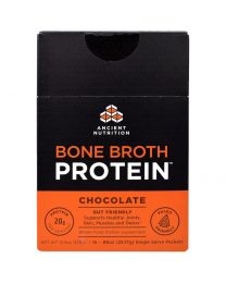 Bone Broth Protein, Chocolate, 15 Single Serve Packets, .89 oz (25.17 g) Each