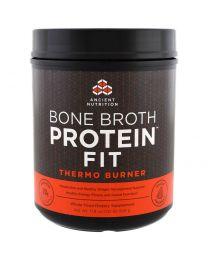 Bone Broth Protein Fit, Thermo Burner, 17.8 oz (506 g)