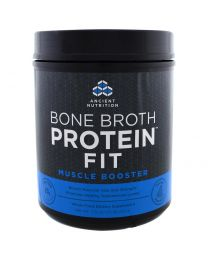 Bone Broth Protein Fit, Muscle Booster, 17.8 oz (504 g)