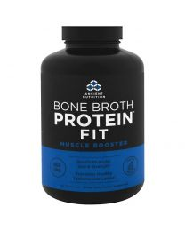 Bone Broth Protein Fit, Muscle Booster, 180 Capsules