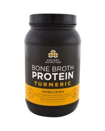 Bone Broth Protein, Turmeric, 32.4 oz (920 g)