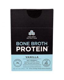 Bone Broth Protein, Vanilla, 15 Single Serve Packets, .87 oz (24.6 g) Each