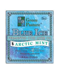 Green Pasture - BLUE ICE™ Fermented Cod Liver Oil - Arctic Mint 237ml