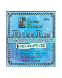 Green Pasture - BLUE ICE™ Fermented Cod Liver Oil - Non-Flavored 237ml