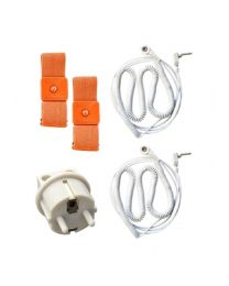 Earthing BODY BAND KIT (2 bands, 2 wires and EU connection)
