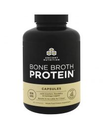 Bone Broth Protein + Ashwagandha, 180 Capsules