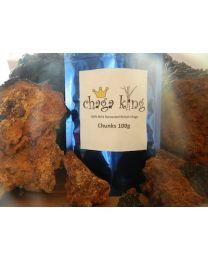 Wild Chaga King Chunks 100g (100% British Wild Chaga Chunks)