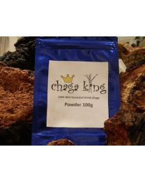 Wild Chaga King Powder 100g (100% British Wild Chaga Powder)