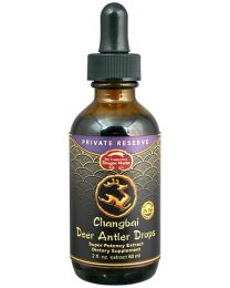 Dragon Herbs Changbai Deer Antler Drops - Private Reserve 2fl oz (60ml)