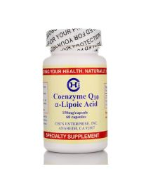 COENZYME Q10/ALPHA LIPOIC ACID (60 caps) (Chi-Health)