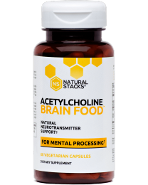 Acetylcholine Brain Food 60caps (Natural Stacks)