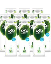 10 x Dr Antonio Martins Coconut Water 1000ml (10 pack)