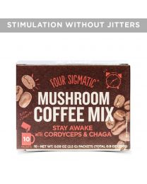 Four Sigma Foods - Mushroom Coffee with Cordyceps & Chaga 10 sachets