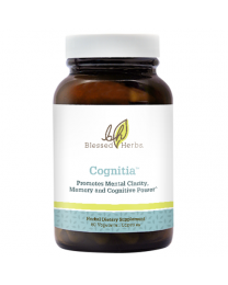 Blessed Herbs Cognitia 60caps (Includes Ginkgo Biloba and more)
