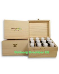 Living Libations Culinary Creations Kit (12 x 5ml bottles) (in wooden box)