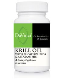 DaVinci Krill Oil with Phospholipids & Astaxanthin 60soft gels