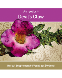 Afrigetics Devils Claw (90 vegecaps 400mg)