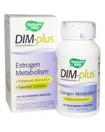 Nature's Way, DIM-plus, Estrogen Metabolism, 120 Veggie Caps
