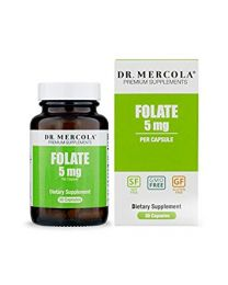 Dr Mercola Folate 5mg 30caps
