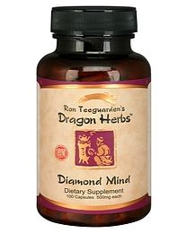 Dragon Herbs Diamond Mind 100 Capsules (500mg)