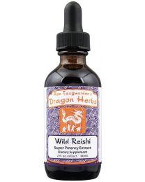 Dragon Herbs Wild Red Reishi Drops 2fl oz (60ml)