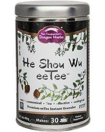 Dragon Herbs He Shou Wu eeTee in a jar