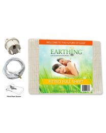 Earthing Fitted Sheet (double bed) with EU connection