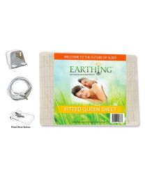 Earthing Fitted Sheet (King) with EU connection