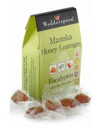 Manuka Active 15+ Lozenges with eucalyptus and bee propolis