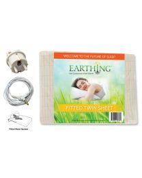 Earthing Fitted Sheet (single bed) with EU connection