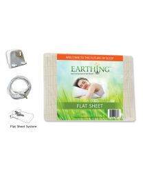 Earthing FLAT Sheet (Super King) with UK connection