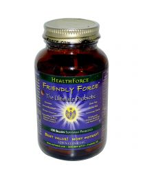 HealthForce Nutritionals, Friendly Force, The Ultimate Probiotic, 120 Vegan Caps