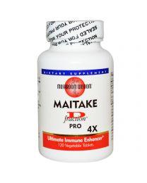 Grifron Maitake, Mushroom Wisdom, Maitake D-Fraction Pro 4X, 120 Veggie Tabs