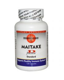 Grifron Maitake, Mushroom Wisdom, Maitake, D Fraction, Standard, 120 Capsules